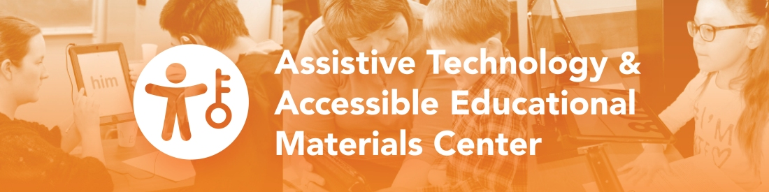 logo for Assistive Technology and Accessible Educational Materials Center at OCALI